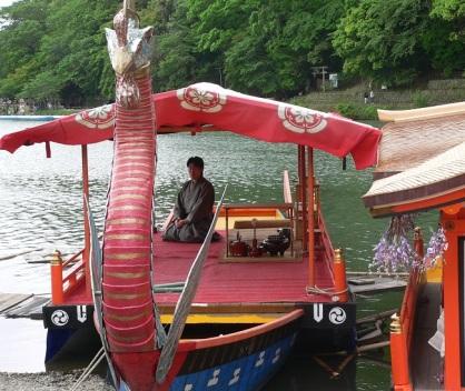 arashiyama river festival.