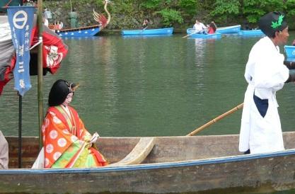 arashiyama river festival
