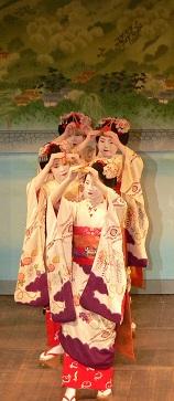 ponto cho, geisha theater.