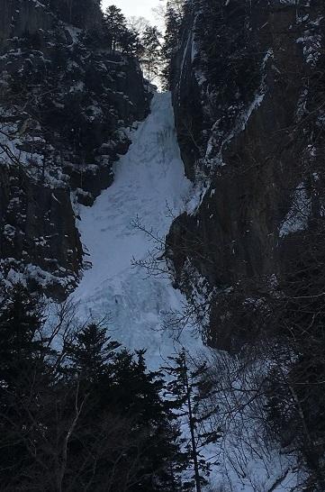 4.2.2018, Sounkyo, frozen waterfall