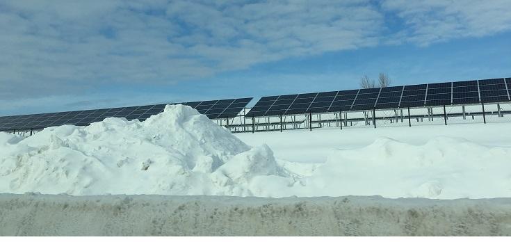 solar joke on Hokkaido