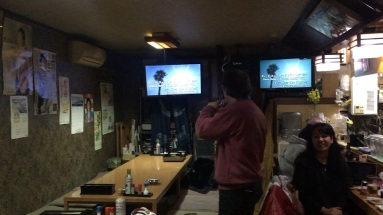 karaoke in izakaya (1)