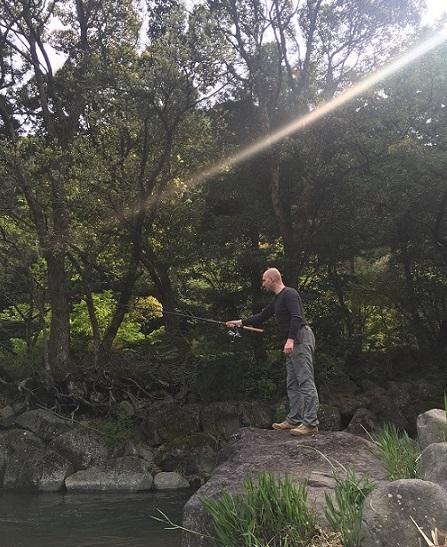 fishing riverside yugawara (2)