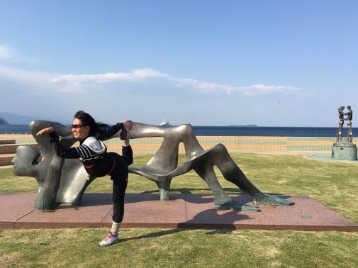yoga at Izu