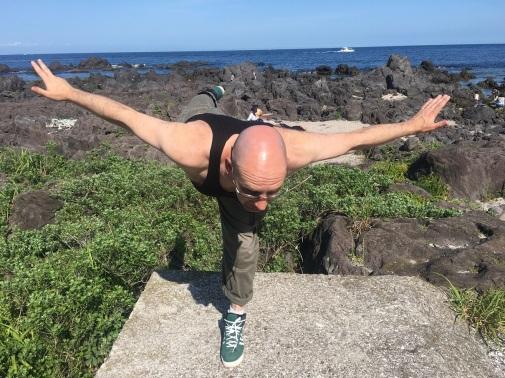 yoga.. fun manazuru