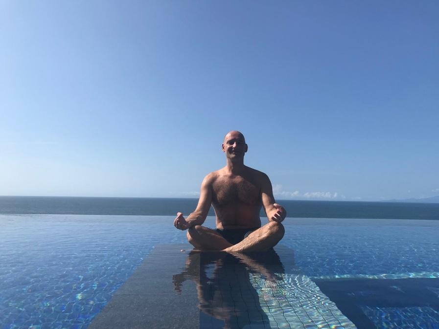 yoga pose, oiso spa