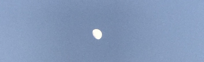 late afternoon-moon