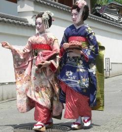 not iki, geisha style