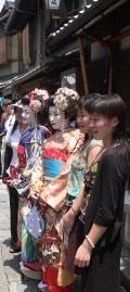 not iki, geisha, weekend style