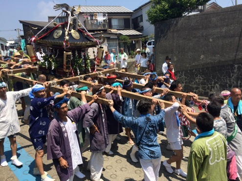 oiso, o'mikoshi diff. shrines (2)