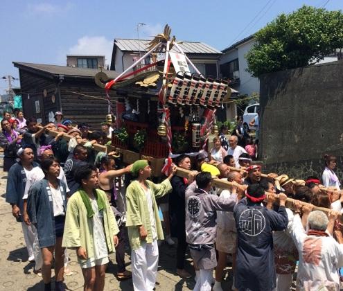 oiso, o'mikoshi diff. shrines (3)