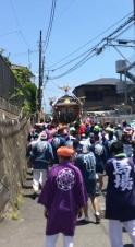 yasaki shrine, o'mikoshi (1)