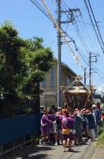 yasaki shrine, o'mikoshi (2)