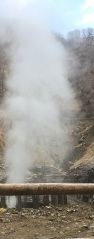Jigokudani hot spring