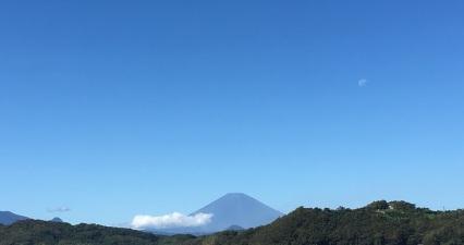 blue sky after taifu