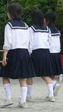 schoolkids kyoto